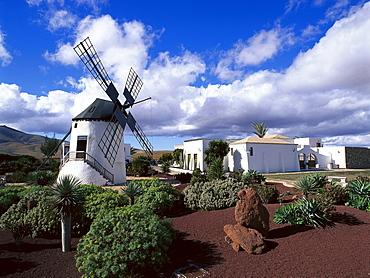 Windmill, Centro de Artesania, Antigua, Fuerteventura, Canary Islands, Spain