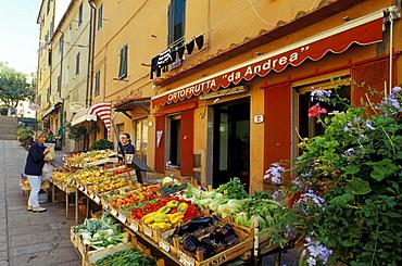 Greengrocery Rio Marina, Elba, Tuscany, Italy