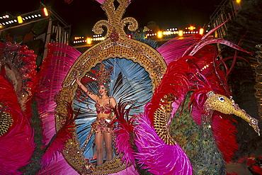 Carneval's Queen, Santa Cruz de Tenerife, Tenerife, Canary Islands, Spain