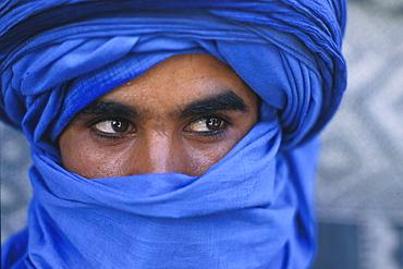 Young tuareg, Douz, Tuneis
