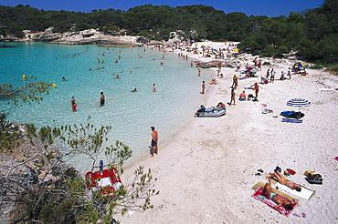 Bay at Cala Turqueta, Minorca, Spain
