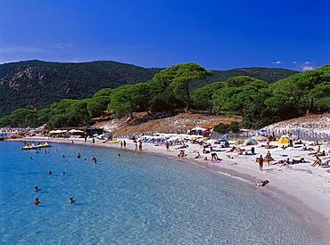 Plage de Plombaggio Beach, near Porto Vecchio Corsica, FranceP