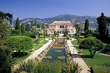 Villa Ephrussi de Rothschild, Cap Ferrat, Cote d'Azur, Provence, France