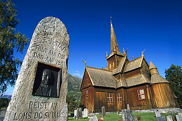 Stave Church, Lom, Western Middle Norway