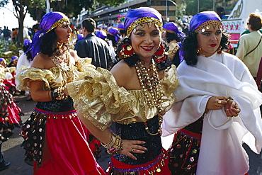Gipsies, Carnival, Santa Cruz de Tenerife, Tenerife, Canary Islands, Spain