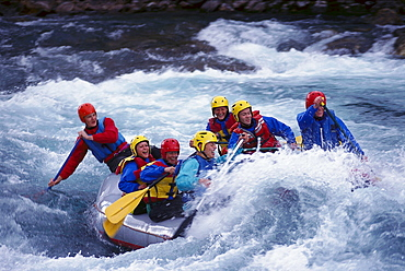 Rafting, Otta River, Western Middle Norway
