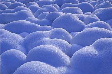 Close up of snow in a Winter landscape, Landscape, Natur
