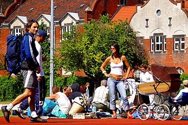 Streetlife in Prenzlauer Berg, Berlin, Germany