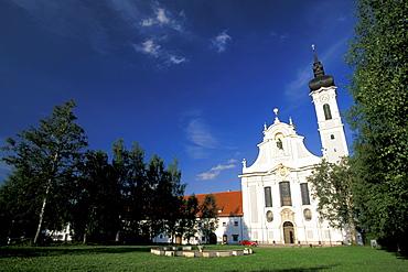 Church Maria Himmelfahrt, Diessen, Ammersee Lake, Bavaria, Germany