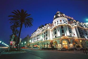 Promenade des Anglais, Hotel Negresco, Nice, Cote D'Azur, France