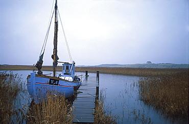 Trawler near Bierregard, Denmark, Europe