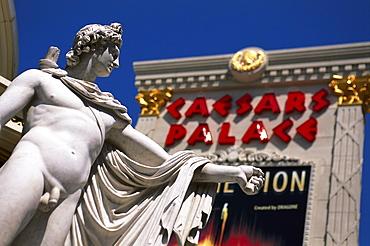 Cesars Palace Hotel & Casino, Las Vegas Nevada, USA, America