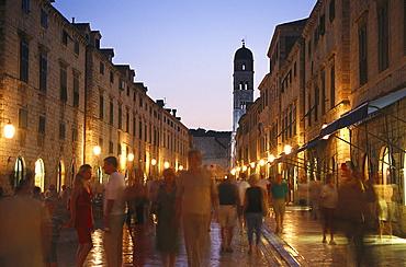 Stradun, Old Town, Dubrovnik, Croatia
