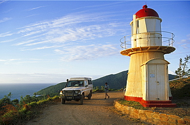 Grassy Hill Lighthouse, Cooktown, tropical north, Queensland, Australia