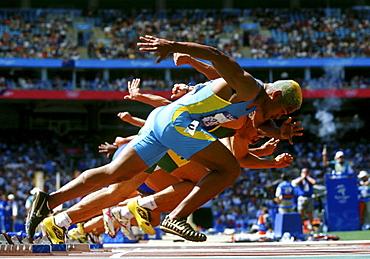 Runners starting, Olympic Games, Sydney, Australia