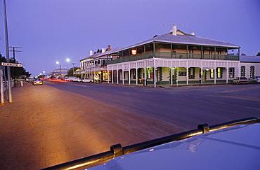 Main street country town Quorn, Gateway to the Flinders Ranges, Flinders Ranges, South Australia, Australia