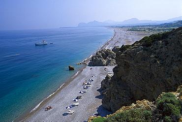 Afantou bay, Rhodos, Dodekanes, Aegean, Greece