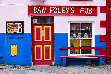 Dan Foley`s Pub in Annascaul, County Kerry, Ireland Europe