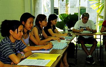 Asian Students, James Cook University, Townsville, Queensland, Australia