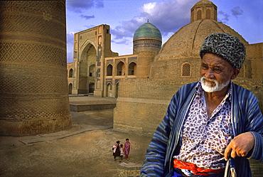 Medres Mir-i-Arab, Kaljan Minarett, Buchara, Uzbekistan