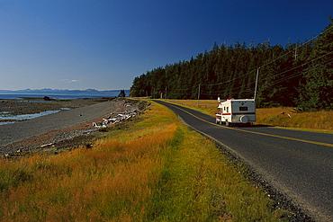 Queen Charlotte Islands, Yellowhead Highway, British Columbia, Canada, North America, America