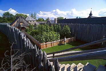 Fort Sainte Marie among the Hurons, Midland, Ontario, Canada, North America, America