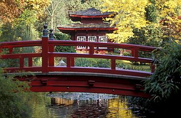 Japanese Garden, Leverkusen, North Rhine-Westfalia, Germany