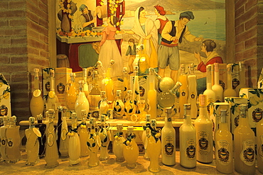 Limoncello Shop, Sorrento, Campania, Italy