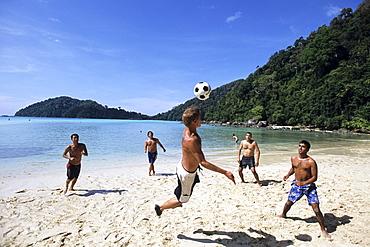 Beach Fun on Ko Butang, Ko Butang Island, Thailand
