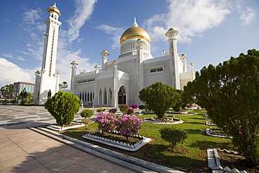 Omar Ali Saifuddien Mosque, Bandar Seri Begawan, Brunei Darussalam, Asia