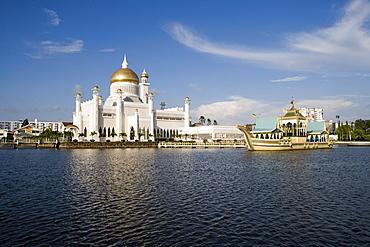 Omar Ali Saifuddien Mosque, Bandar Seri Begawan, Brunei Darussalam
