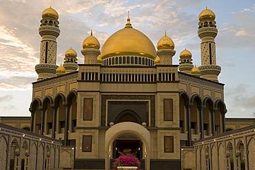 Jame'Asr Hassan Bolkia Mosque, Bandar Seri Begawan, Brunei Darussalam, Asia