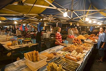 Baked Goods at Night Market, Pasar Malam Night Market, Bandar Seri Begawan, Brunei Darussalam, Asia