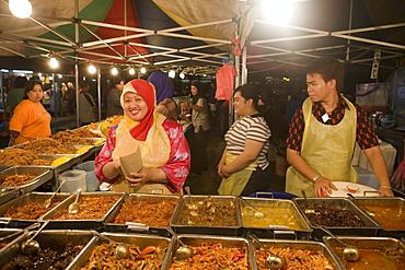 Night Market Fast Food, Pasar Malam Night Market, Bandar Seri Begawan, Brunei Darussalam, Asia