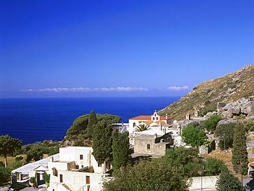 Cloister Moni-Preveli, Crete, Greece