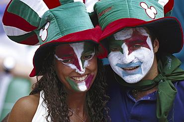 Two italian football fans