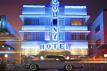 Colony Hotel, Art Deco District, Miami, Florida, USA, America00056841