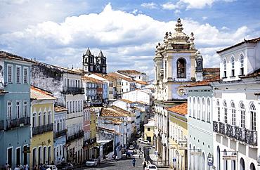 Nossa Senhora do Rosario dos Pretos, Largo de Pelourinho, Salvador de Bahia, Brazil