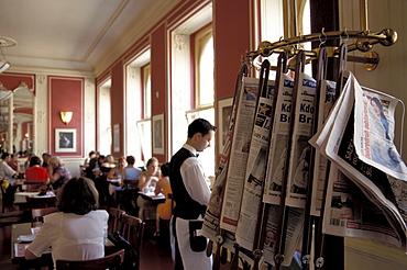 Cafe Louvre, Prague, Czechia
