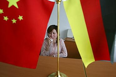secretary, German company, LENZE AG, Shanghai