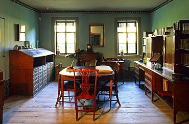 Europe, Germany, Thuringia, Weima, Goethe's House, Goethe's study