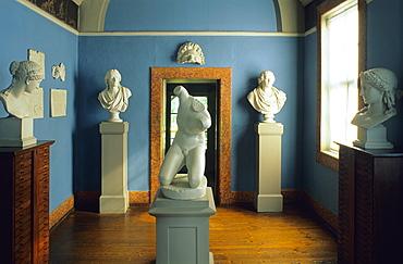 Europe, Germany, Thuringia, Weimar, Goethe's House, Buestenzimmer