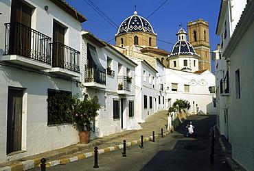 Church, Iglesia Virgen de Consuelo, Altea, Province Alicante, Spain80