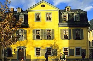 Europe, Germany, Thuringia, Weimar, Schiller House, Schillerstrasse 12