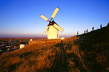 Windmill, Sancho, Consuegra, Province Toledo, Castilla-La Mancha, Spain