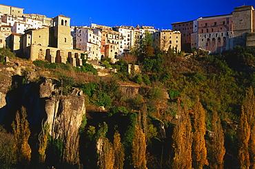 Old town, Ciudad Antigua, Ermita, Jucar-gorge, Cuenca, Castilla-La Mancha, Spain
