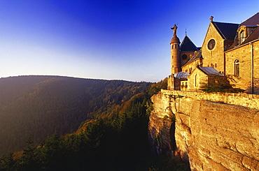 Monastery Mont Ste-Odile, Elsass, France00058475