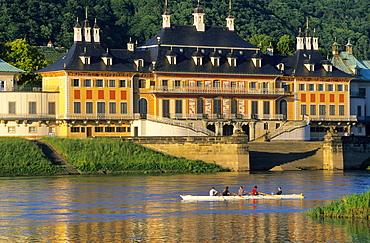 Europe, Germany, Saxony, Castle Pilnitz near Dresden, Wasserpalais