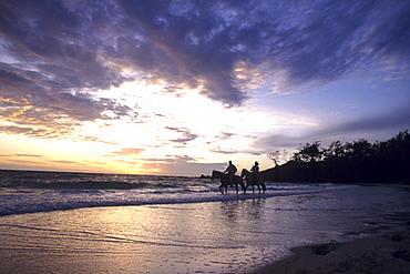 Sunrise Horseback Ride, Turtle Island Resort, Turtle Island, Yasawa Islands, Fiji