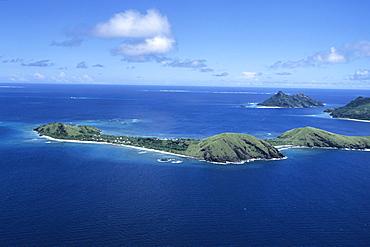 Aerial Photo of Yanuya Island, Mamanuca Islands, Fiji